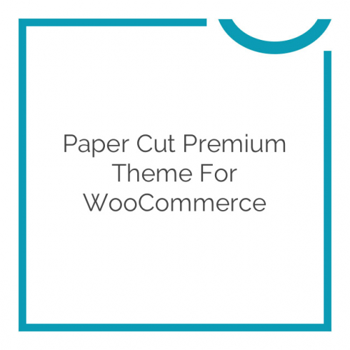 Paper Cut Premium Theme for WooCommerce 2.5.4