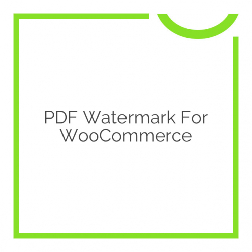 PDF Watermark for WooCommerce 1.1.3