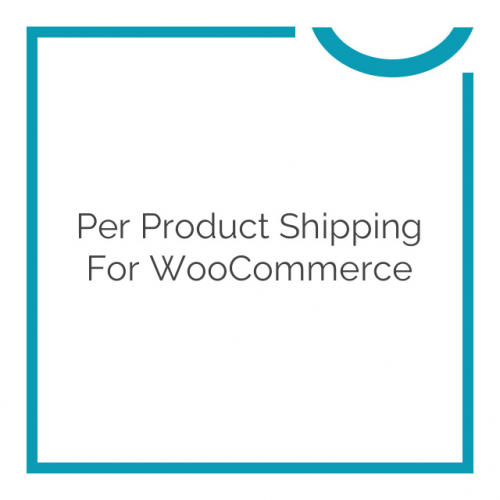 Per Product Shipping for WooCommerce 2.2.11