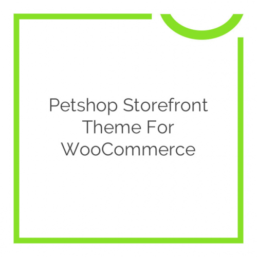 Petshop Storefront Theme for WooCommerce 1.1.2