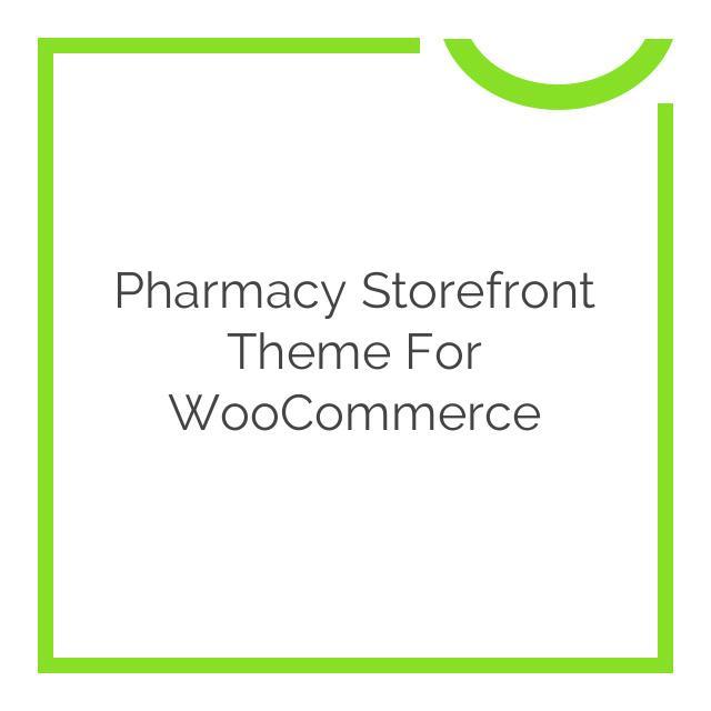 Pharmacy Storefront Theme for WooCommerce 2.0.10