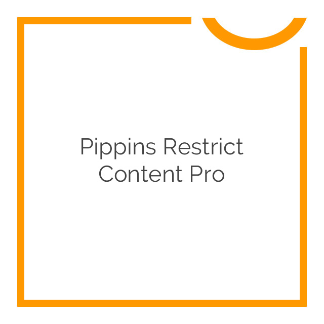 Pippins Restrict Content Pro 2.8.5