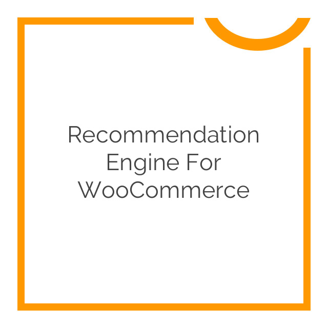 Recommendation Engine for WooCommerce 3.1.7
