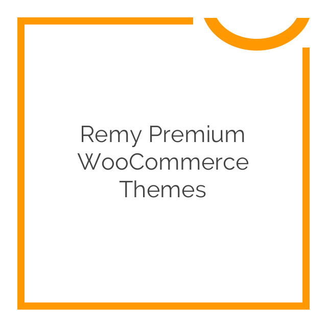 Remy Premium WooCommerce Themes 1.1.7