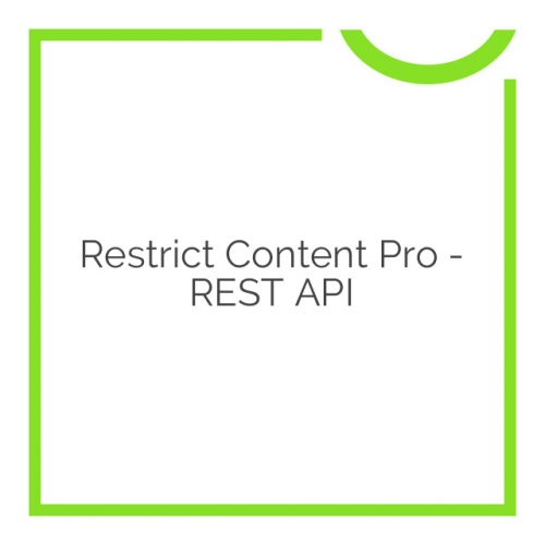 Restrict Content Pro – REST API 1.0.3