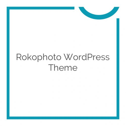 Rokophoto WordPress Theme 1.1.15