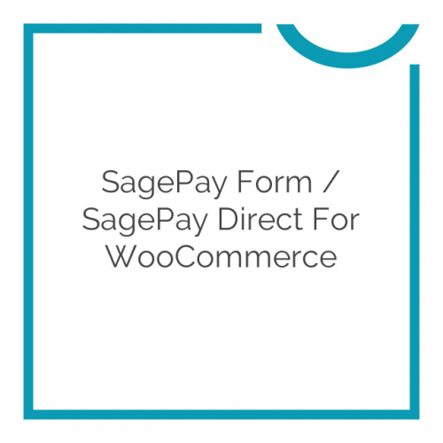 SagePay Form / SagePay Direct for WooCommerce 3.10.1