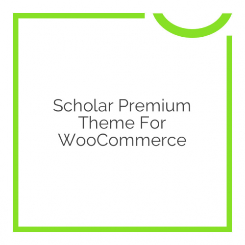 Scholar Premium Theme for WooCommerce 1.1.7