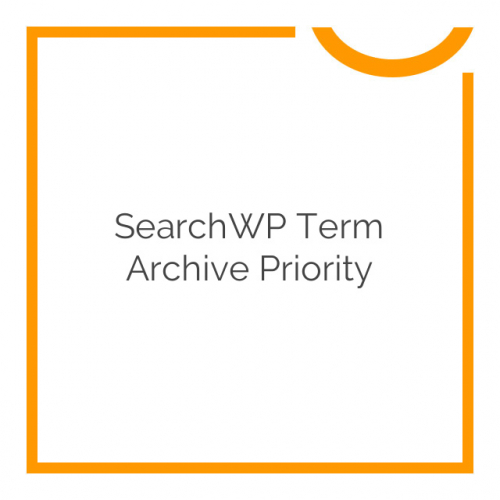 SearchWP Term Archive Priority 1.1.3