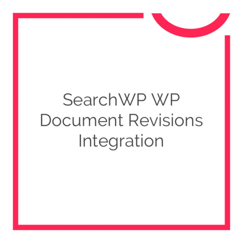 SearchWP WP Document Revisions Integration 1.0.0
