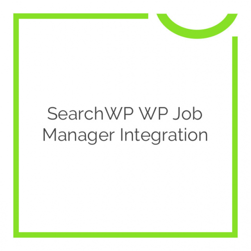 SearchWP WP Job Manager Integration 1.5.12