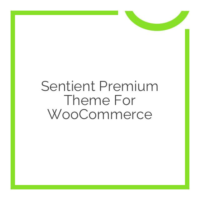 Sentient Premium Theme for WooCommerce 1.6.5
