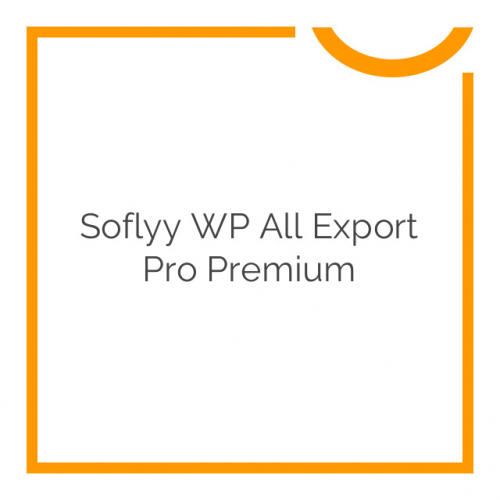 Soflyy WP All Export Pro Premium 1.4.7