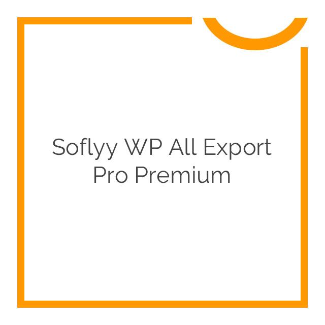 Soflyy WP All Export Pro Premium 1.4.7