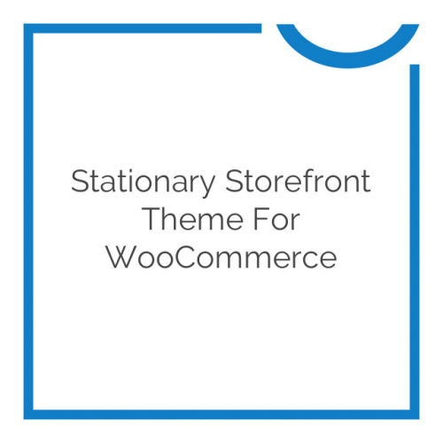 Stationary Storefront Theme for WooCommerce 1.0.9