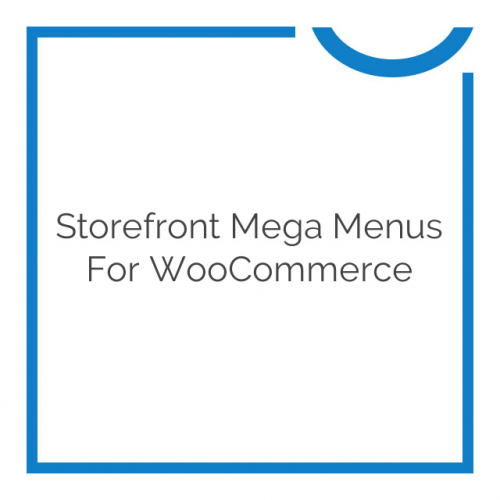 Storefront Mega Menus for WooCommerce 1.6.0