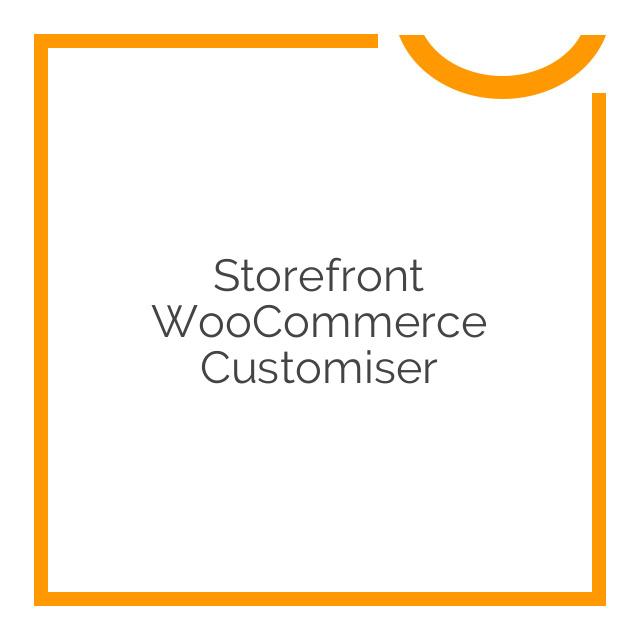 Storefront WooCommerce Customiser 1.9.2