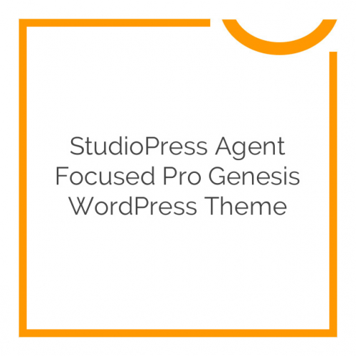 StudioPress Agent Focused Pro Genesis WordPress Theme 1.0.0