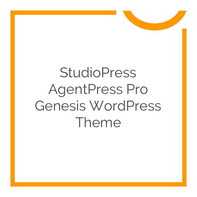 StudioPress AgentPress Pro Genesis WordPress Theme 3.1.3