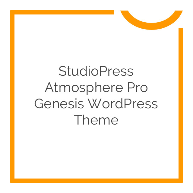 StudioPress Atmosphere Pro Genesis WordPress Theme 1.1.3