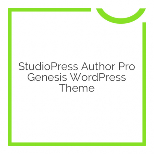 StudioPress Author Pro Genesis WordPress Theme 1.2.3
