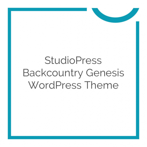 StudioPress Backcountry Genesis WordPress Theme 1.0.2