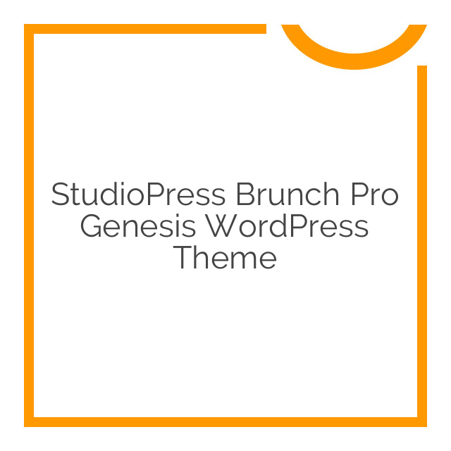 StudioPress Brunch Pro Genesis WordPress Theme 2.2.1