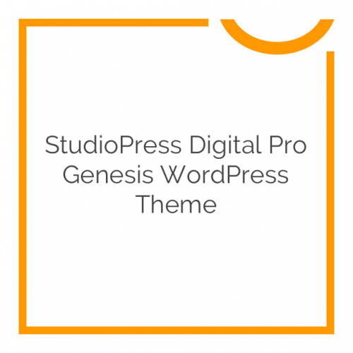 StudioPress Digital Pro Genesis WordPress Theme 1.1.3