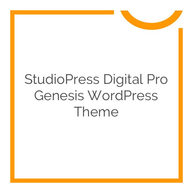 StudioPress Digital Pro Genesis WordPress Theme 1.1.3