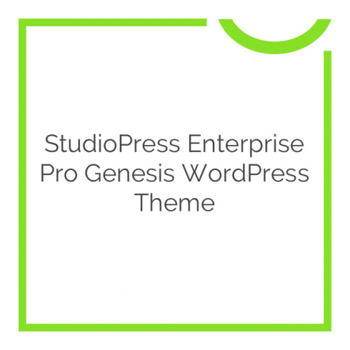 StudioPress Enterprise Pro Genesis WordPress Theme 2.1.2