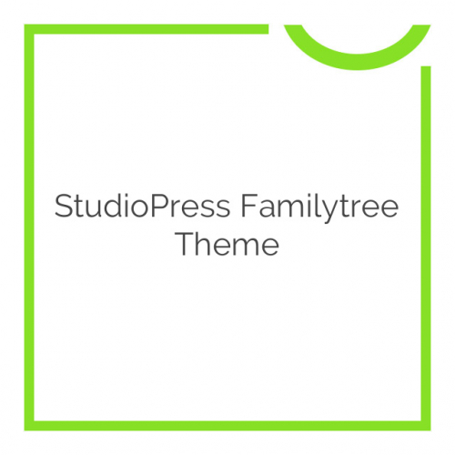 StudioPress Familytree Theme 1.2