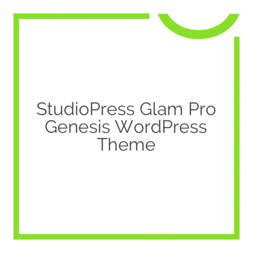 StudioPress Glam Pro Genesis WordPress Theme 1.0.3