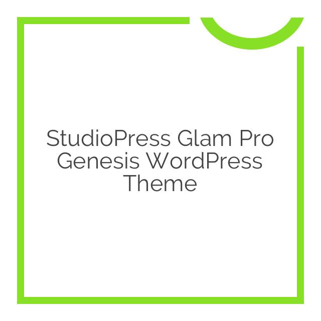 StudioPress Glam Pro Genesis WordPress Theme 1.0.3