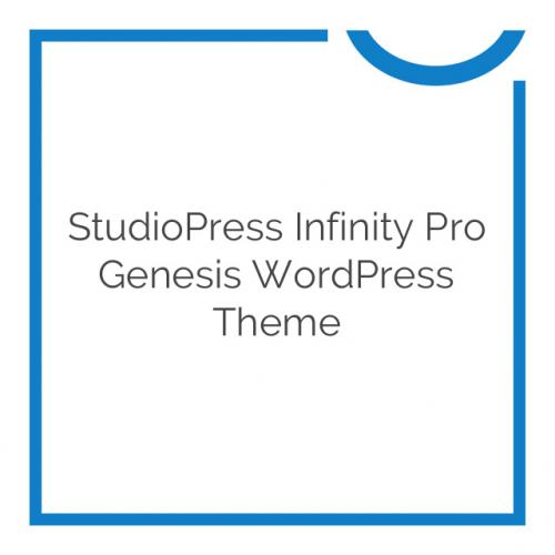 StudioPress Infinity Pro Genesis WordPress Theme 1.1.3