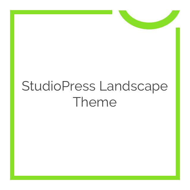 StudioPress Landscape Theme 1.0.1