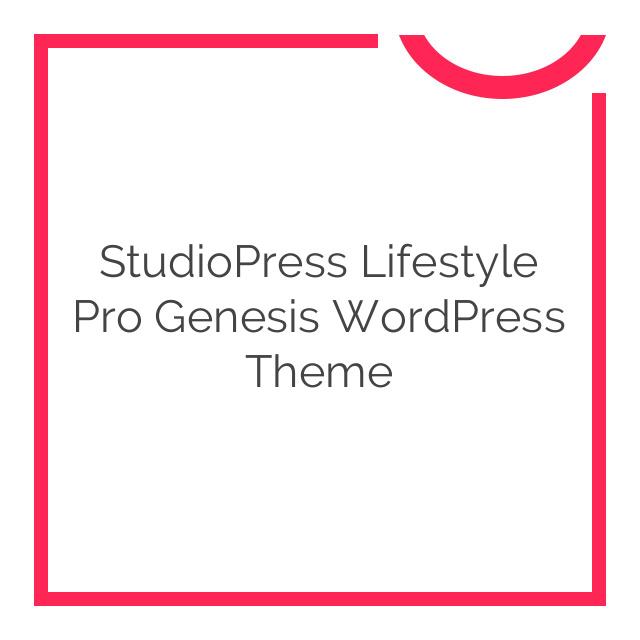 StudioPress Lifestyle Pro Genesis WordPress Theme 3.2.4