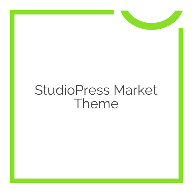 StudioPress Market Theme 1.0.1