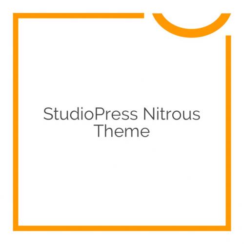 StudioPress Nitrous Theme 1.0.0