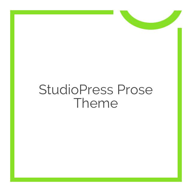 StudioPress Prose Theme 1.5.2