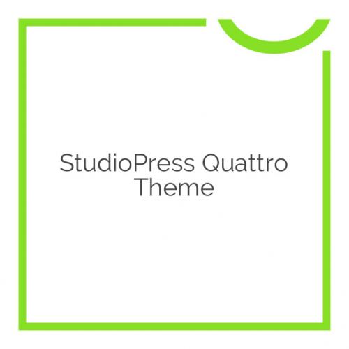 StudioPress Quattro Theme 1.0.1