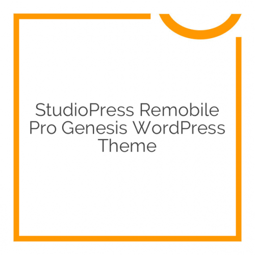 StudioPress Remobile Pro Genesis WordPress Theme 1.0.2