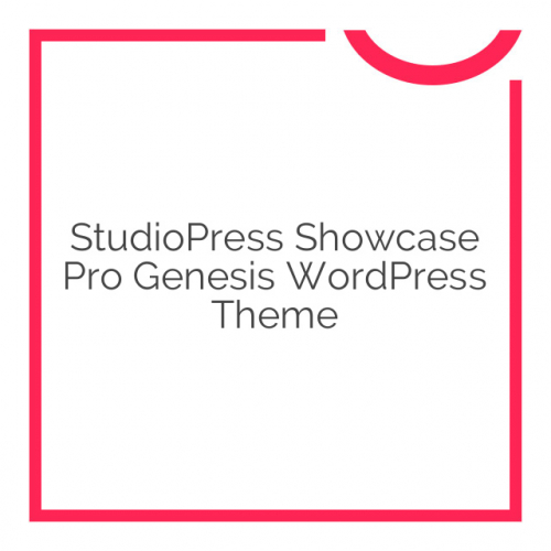 StudioPress Showcase Pro Genesis WordPress Theme 2.0.2