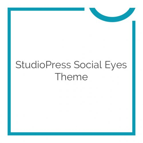 StudioPress Social Eyes Theme 1.0.1