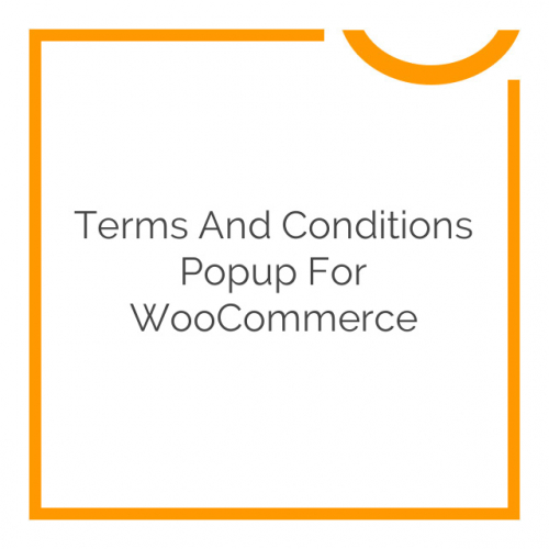Terms and Conditions Popup for WooCommerce 1.0.3