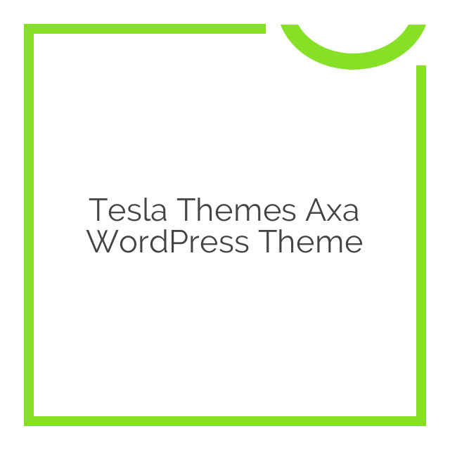 Tesla Themes Axa WordPress Theme 1.6.4