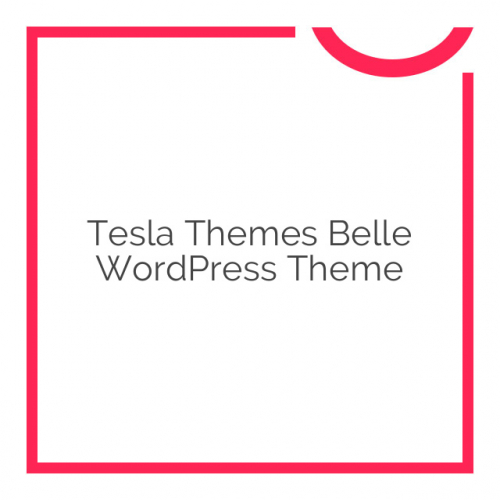 Tesla Themes Belle WordPress Theme 2.6.2