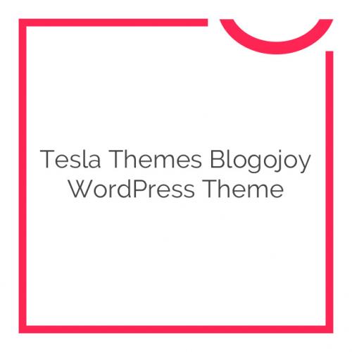 Tesla Themes Blogojoy WordPress Theme 1.2.8