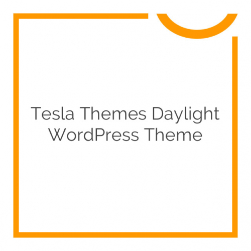 Tesla Themes Daylight WordPress Theme 1.0.5
