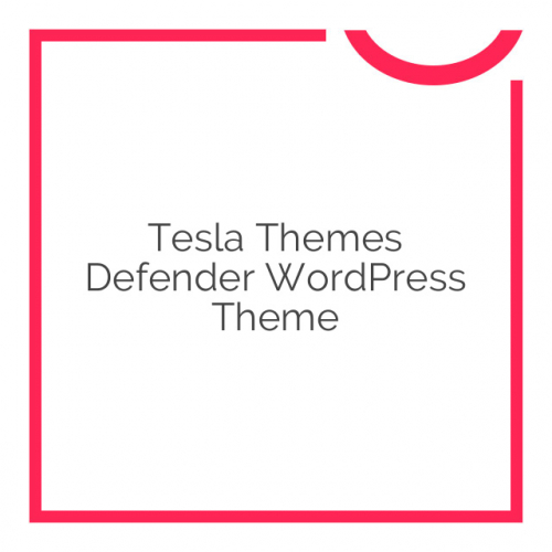 Tesla Themes Defender WordPress Theme 1.6.1