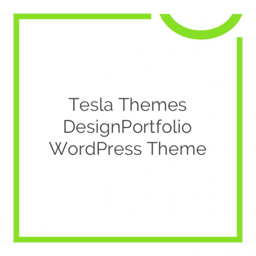 Tesla Themes DesignPortfolio WordPress Theme 2.1